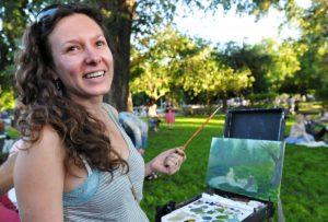 Уроки живописи на свежем воздухе пройдут в Битцевском лесу
