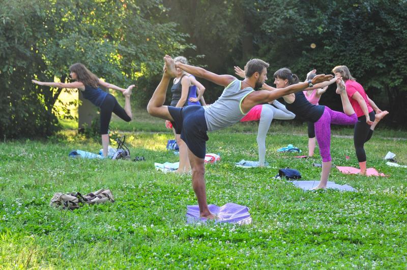 Очередное занятие по йоге пройдет в районе Братеево