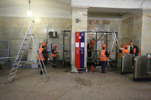 Южный вестибюль станции метро «Ленинский проспект» закрыли до 31 августа