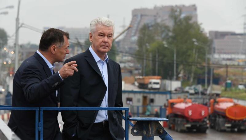 Собянин: В Новой Москве начато строительство дублера МКАД