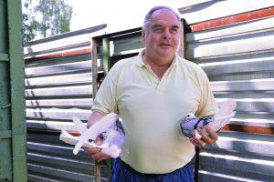 7 июля 2016 года. Валерий Альварес с 1979 года содержит голубятню. Как признается Валерий, содержать голубятню дорого, но он справляется