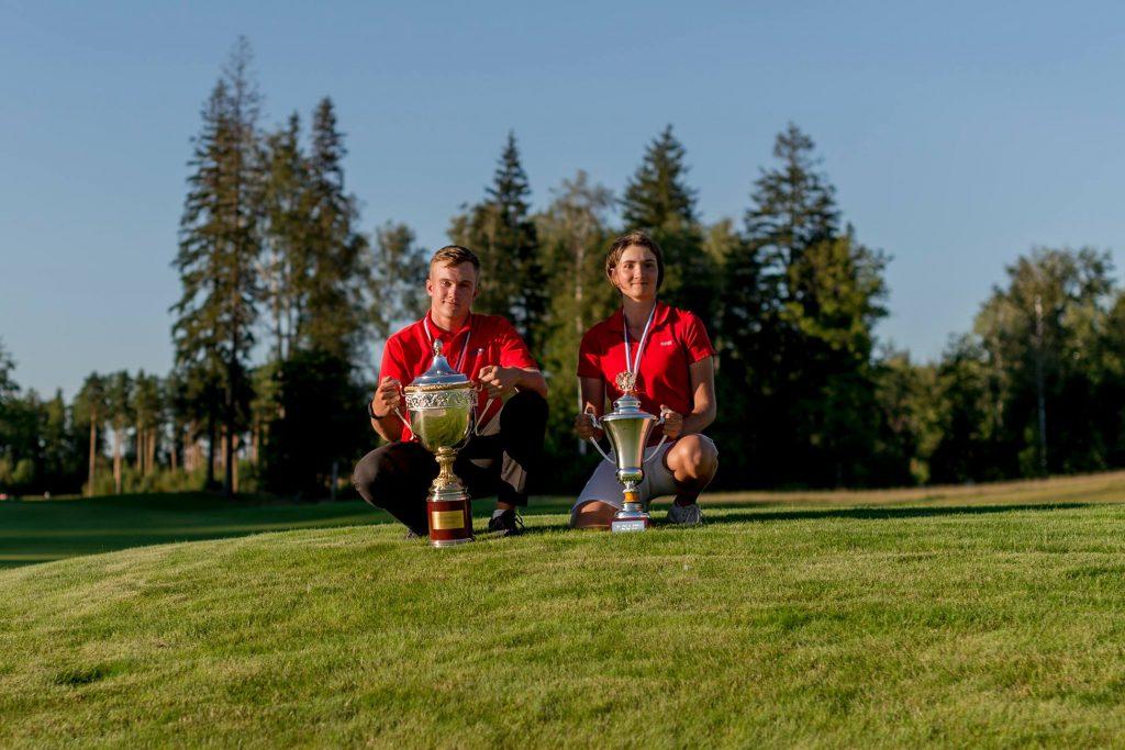 Москвичи выиграли чемпионат России по гольфу