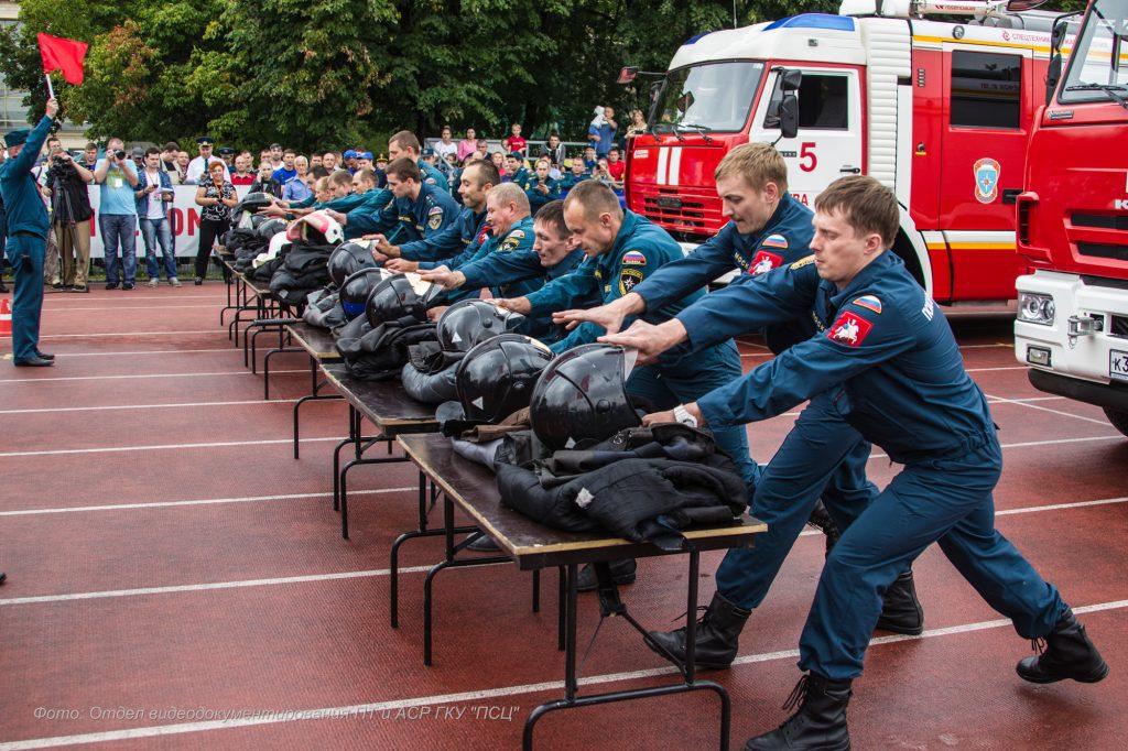 Столичные пожарные ПСЦ – призеры чемпионата по боевому развертыванию