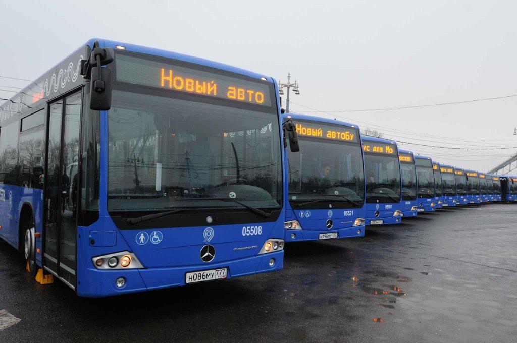 С 1 сентября на улицы Москвы выведут 344 новых автобуса