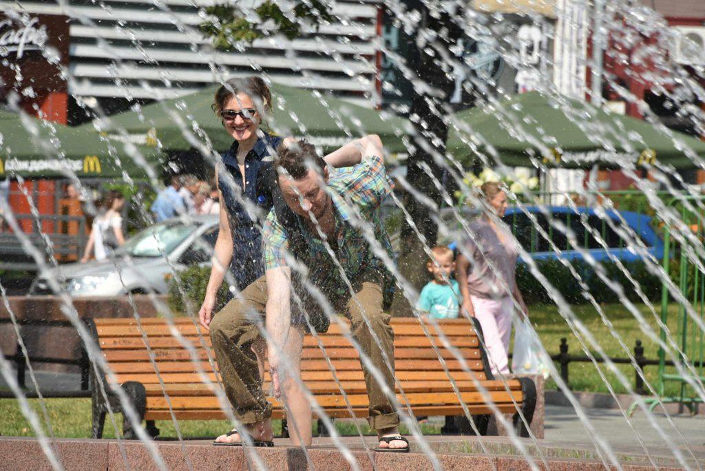 Оранжевый уровень опасности объявили в Москве из-за жары