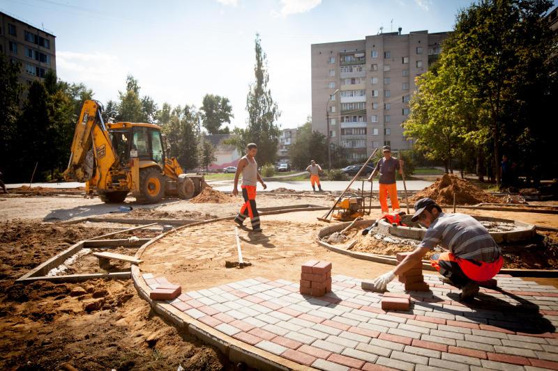 Площадку для отдыха построят в одном из дворов Нагорного района