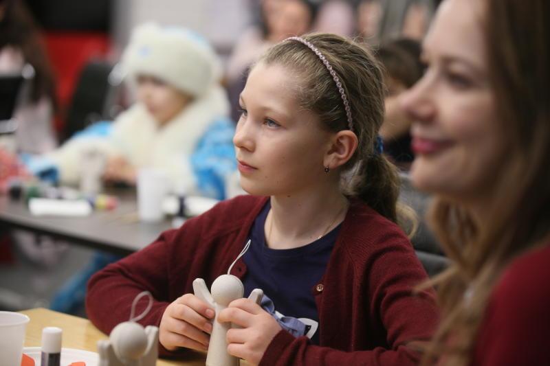 Творческие мастер-классы для детей проведут в центре «Москворечье»