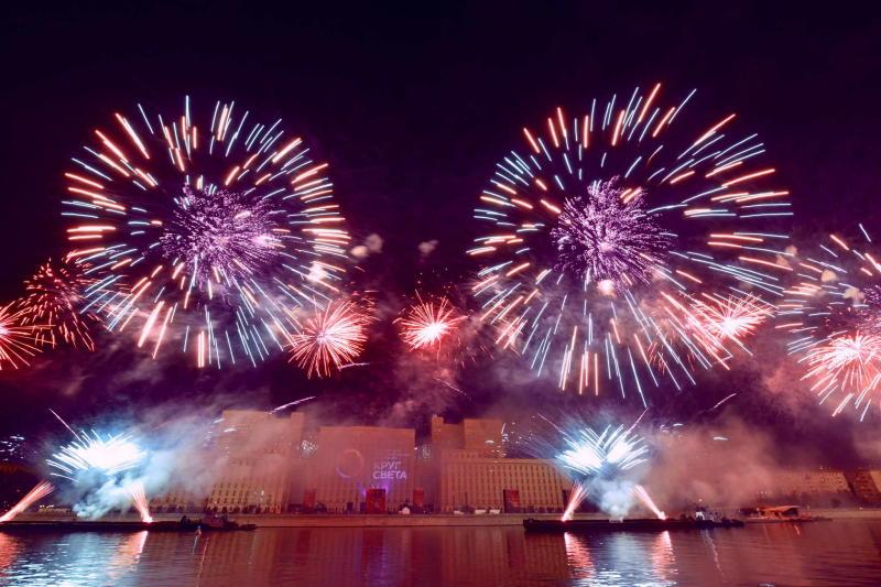 Фейерверки времен Екатерины Великой воссоздадут на фестивале
