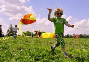 """Фестиваль воздушных змеев """"Пестрое небо"""" пройдет в Царицынском парке. Фото: """"Вечерняя Москва"""""""
