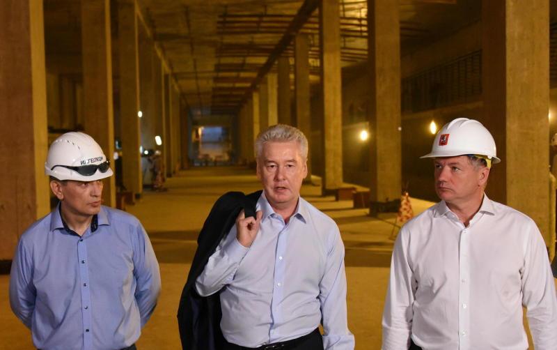 Собянин: Строительство ТПК - крупнейший проект развития столичного метро