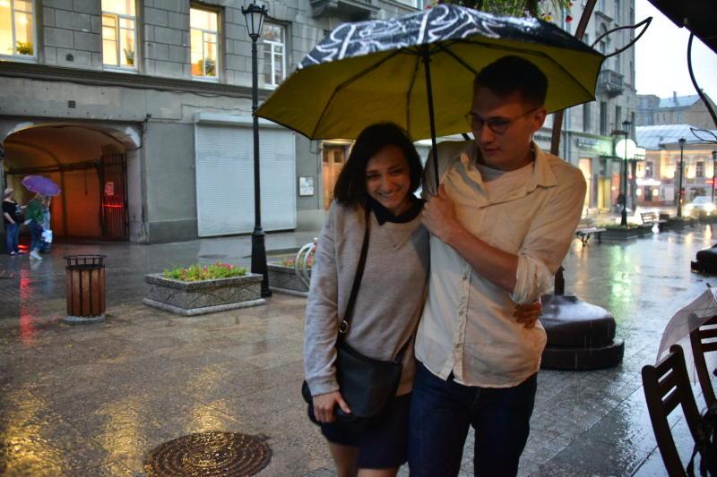 Осенью в столице могут появиться пункты проката зонтов