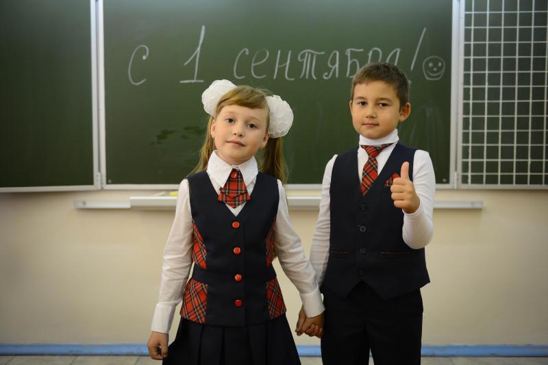 Для московских школьников, родителей и учителей стартовал флешмоб «Привет, школа!»