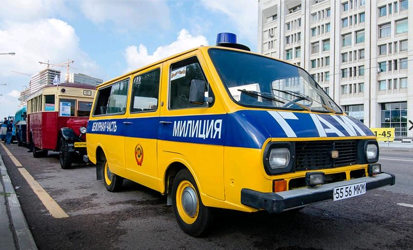 ВДень города пройдет 1-ый московский парад городской техники