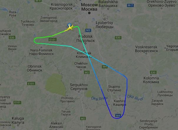 ВоВнуково экстренно сел самолет из-за залетевшей в мотор птицы