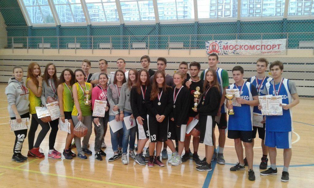 Соревнования по стритболу прошли в Западном Бирюлеве