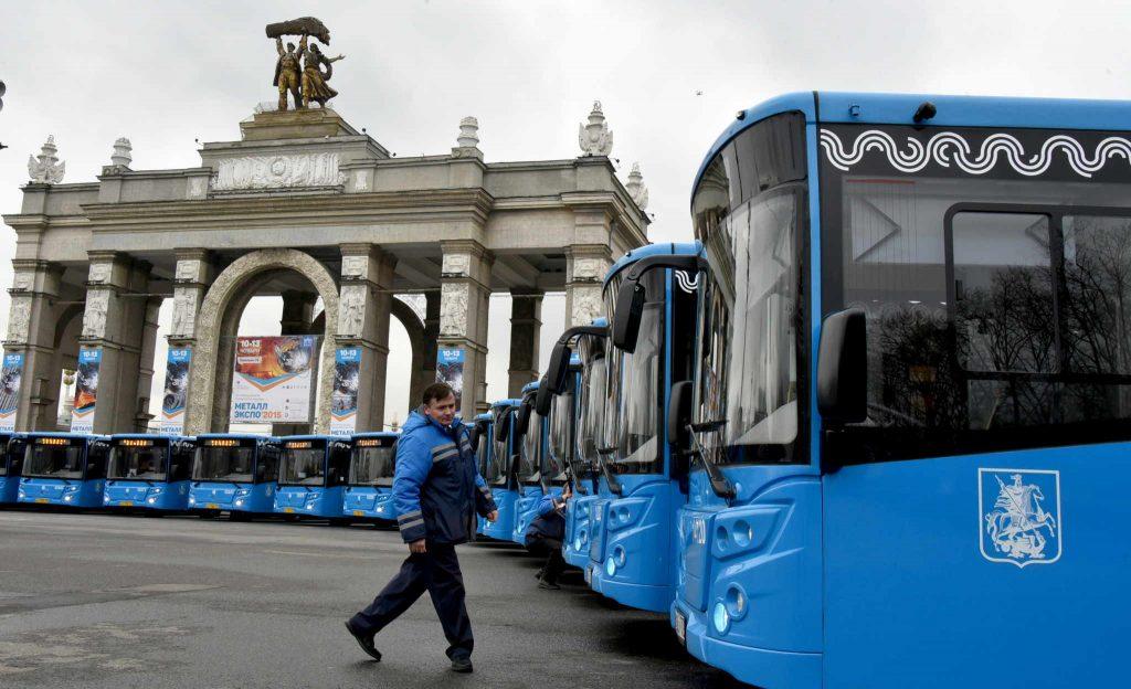 Власти Москвы развивают самый молодой автобусный парк в Европе