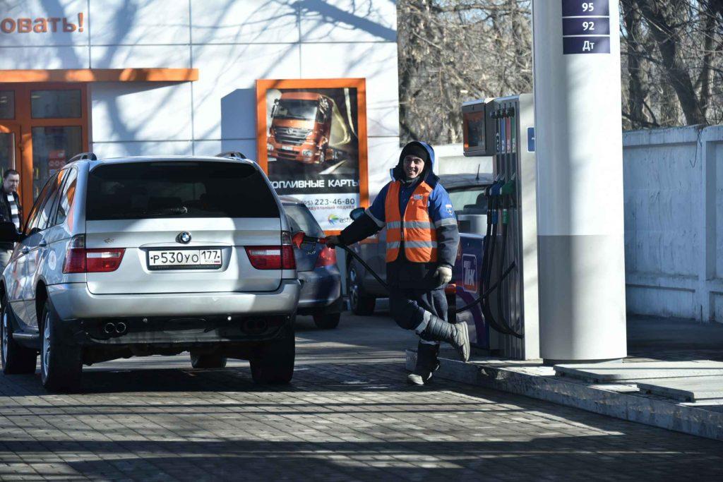 Автозаправку на Пролетарском проспекте реконструируют