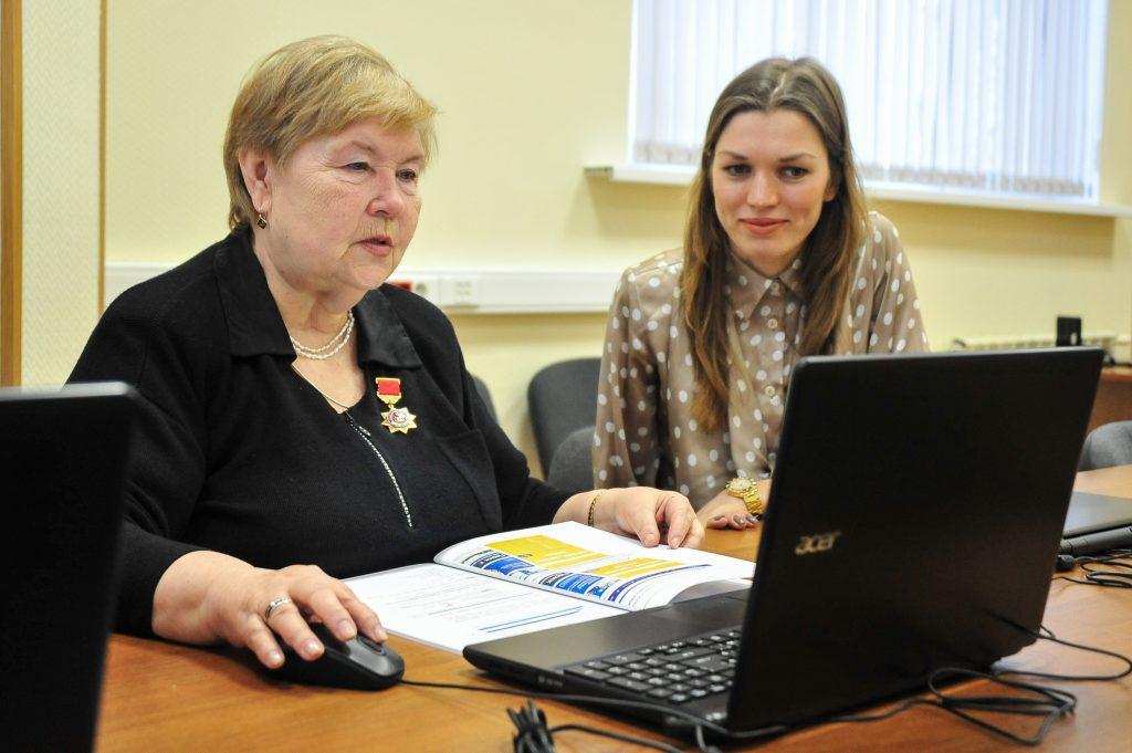 Отделения Пенсионного фонда помогут в регистрации на портале госуслуг Москвы