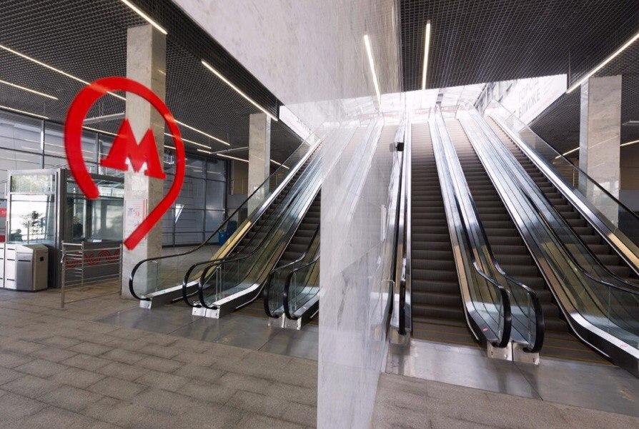 Московское центральное кольцо оборудовали эскалаторами с датчиками движения