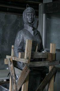 Памятник защитницам Москвы