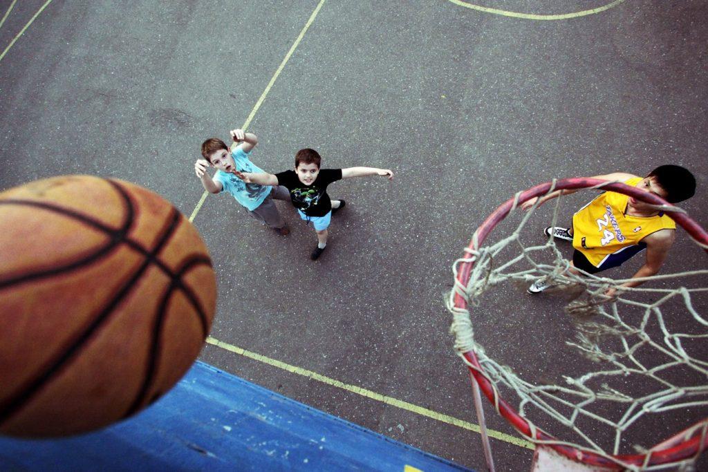 Бесплатная баскетбольная секция для детей открылась в лицее №1828