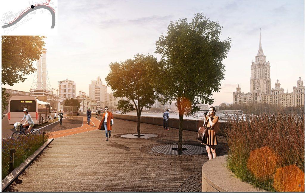 Стройкомплекс объявил конкурс на реконструкцию Симоновской набережной