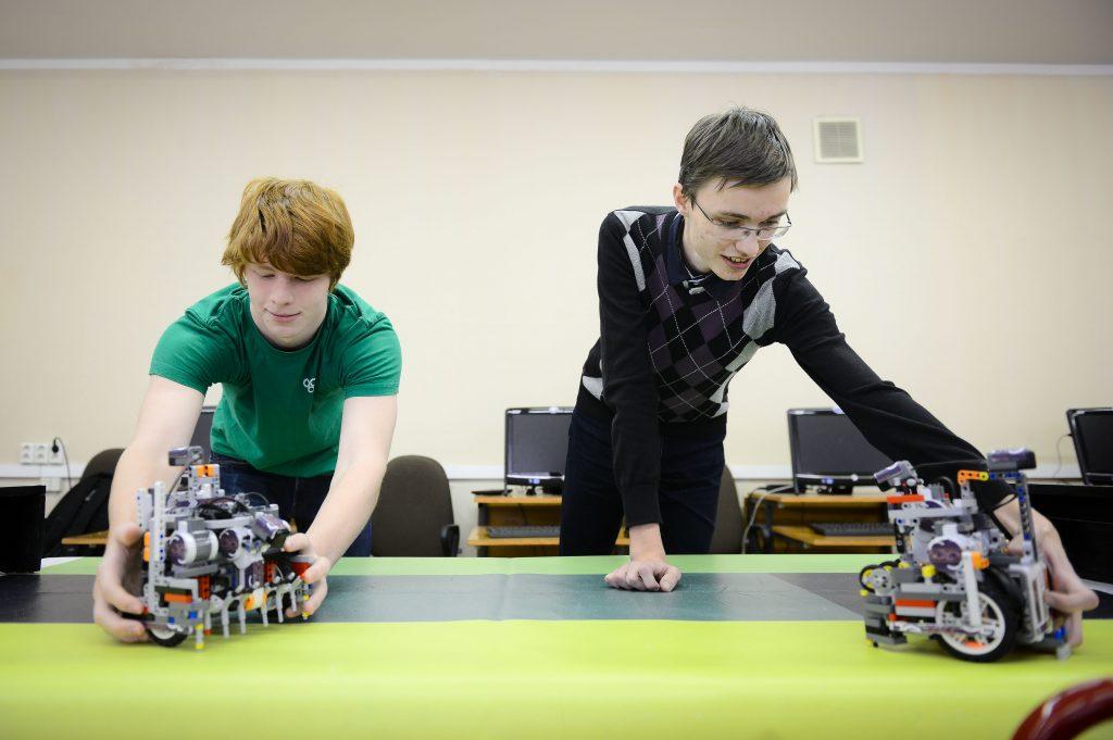 Кружок робототехники для детей открылся в гимназии Москворечья-Сабурова