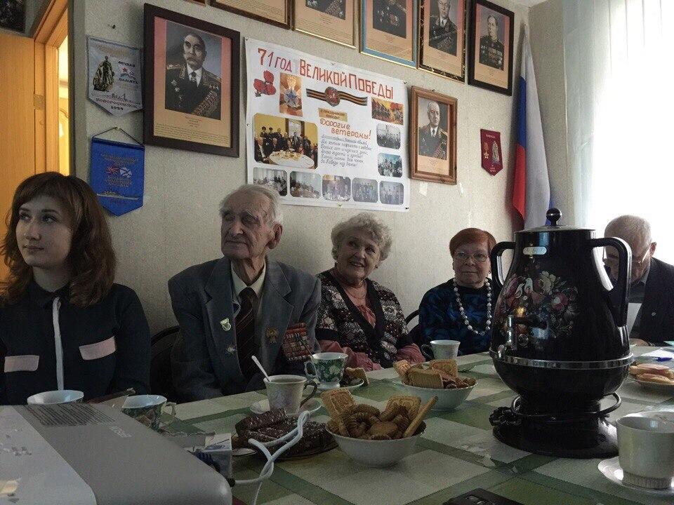 Молпалата района Царицыно организовала чаепитие для ветеранов
