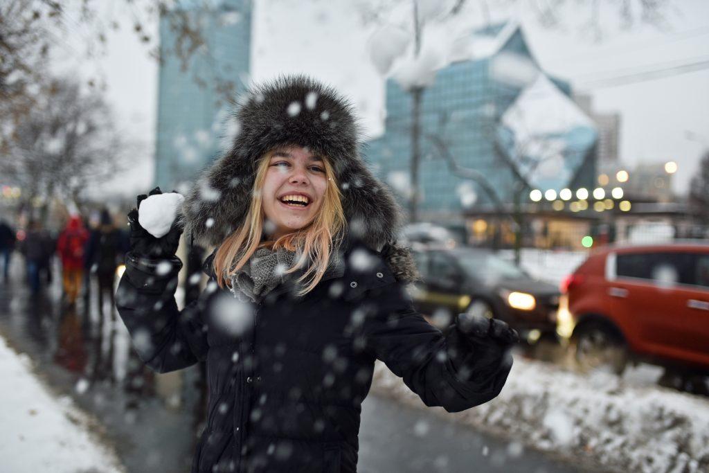 За три недели ноября осадки в Москве на треть превысили норму