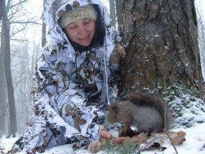 Охотинспектор отлично ладит с животными