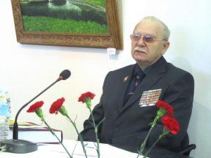 Ветеран Черноморского флота, ветеран Вооружённых сил СССР и военной службы Михаил Ермилов