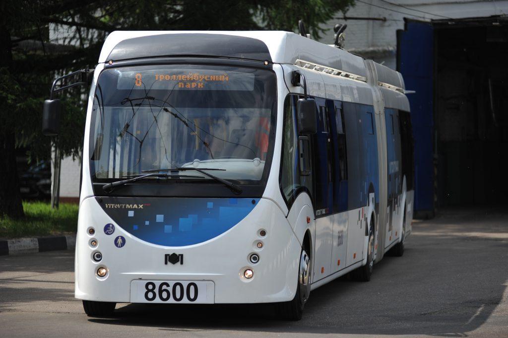 Заниженные троллейбусы на автономном ходу появятся в Москве