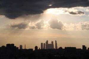 Вид с крыши КЦ ЗиЛ. Фото: «Вечерняя Москва»