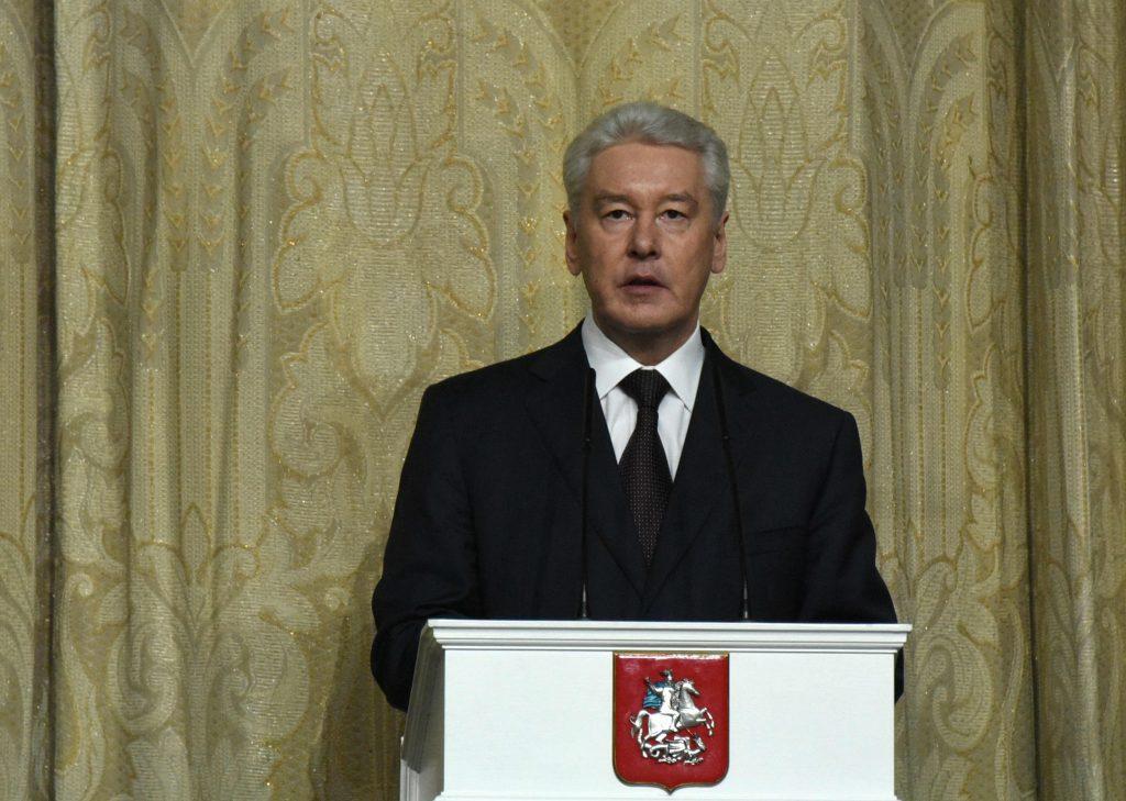Собянин поздравил лауреатов ежегодной московской премии
