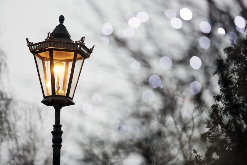 По просьбе местных жителей на Кировоградской улице восстановили освещение