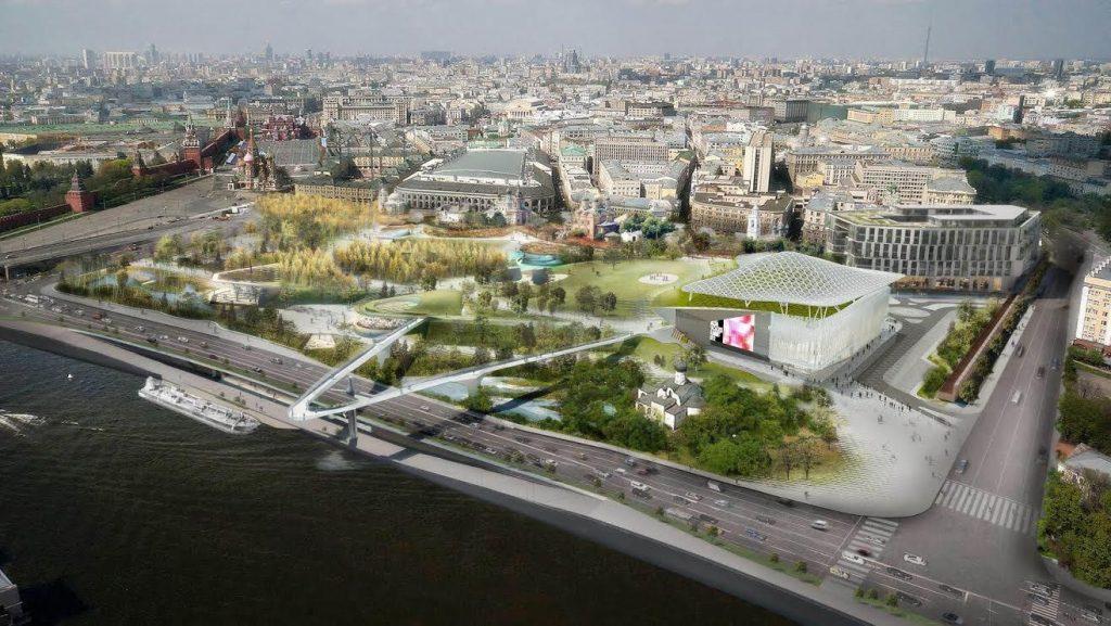 На Международном культурном форуме в Санкт-Петербурге презентуют проект Выставочного центра Эрмитаж
