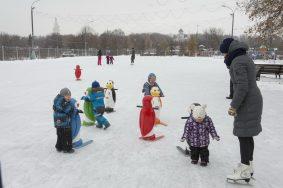 Открытие зимнего сезона в парке Коломенское. Фото Артем Житенев.