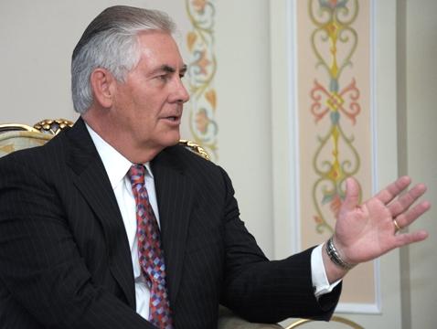 Новым госсекретарем США будет владелец русского ордена Дружбы