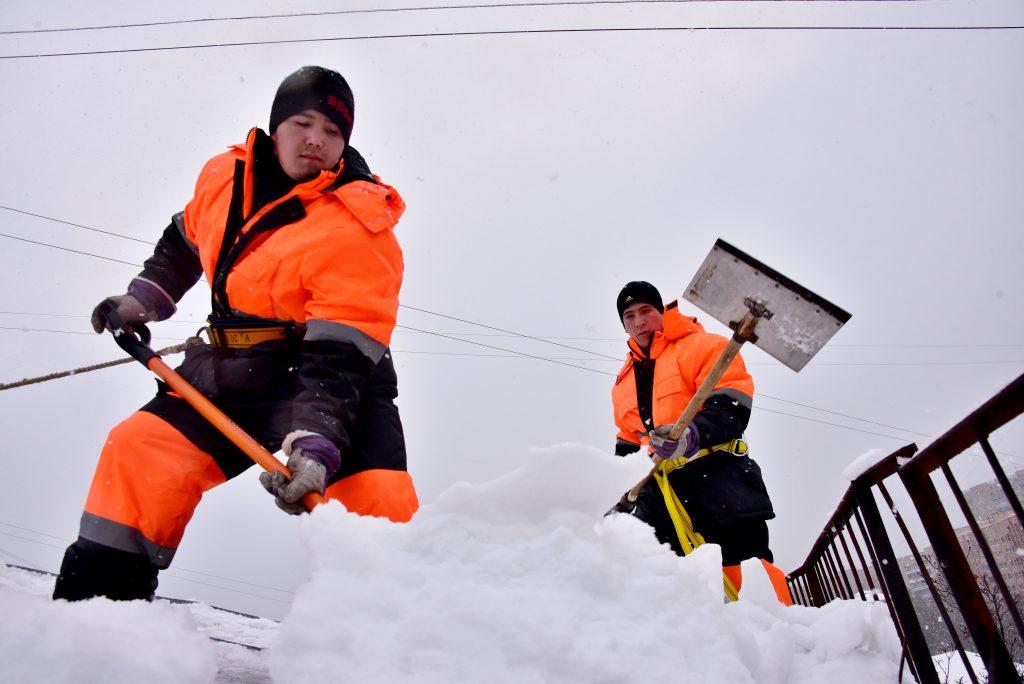 Во вторник москвичей ожидает метель с похолоданием