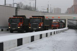 Мэр Москвы Сергей Собянин открыл движение по Михалковскому тоннеля на реконструированной Большой Академической улице