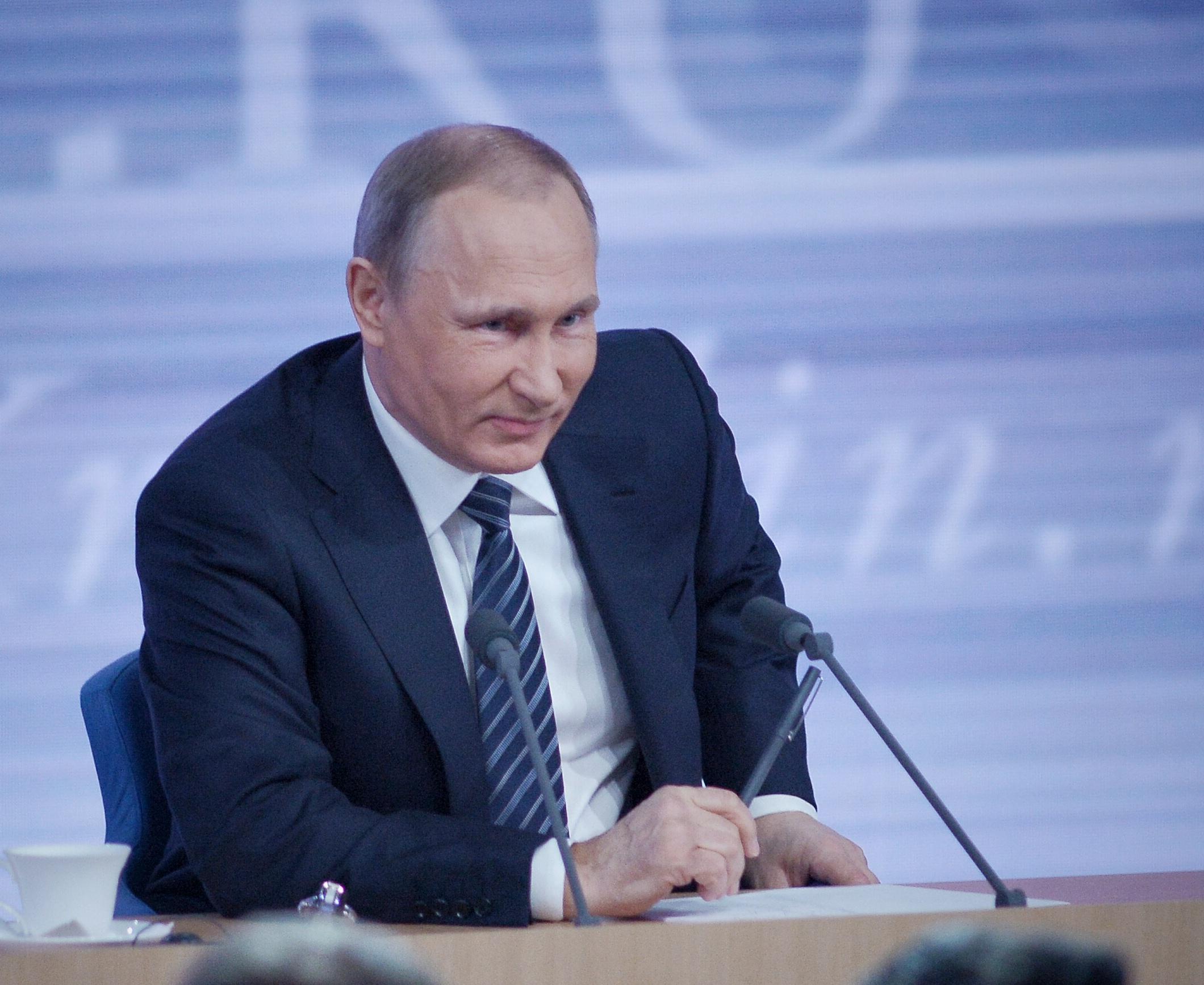 Политик года: Владимир Путин стал лидером рейтинга-2016