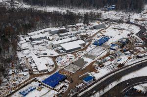 09 ноября 2016 Мэр Москвы Сергей Собянин осмотрел ход строительства станции метро Ховрино