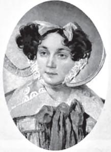 Старшая дочь Михаила Кутузова и предок Николая Малевского Прасковья Голенищева-Кутузова