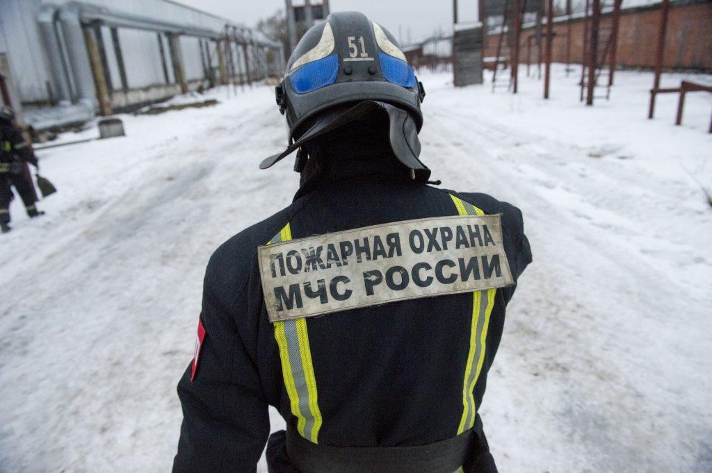 Причиной 800-метрового пожара в торговом центре Москвы мог стать поджог