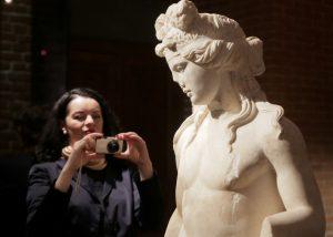 """Выставка """"Боги и герои Древней Греции"""" в Историческом музее."""
