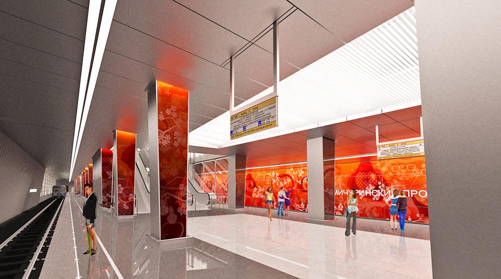 Китайская корпорация построит три станции Московского метро