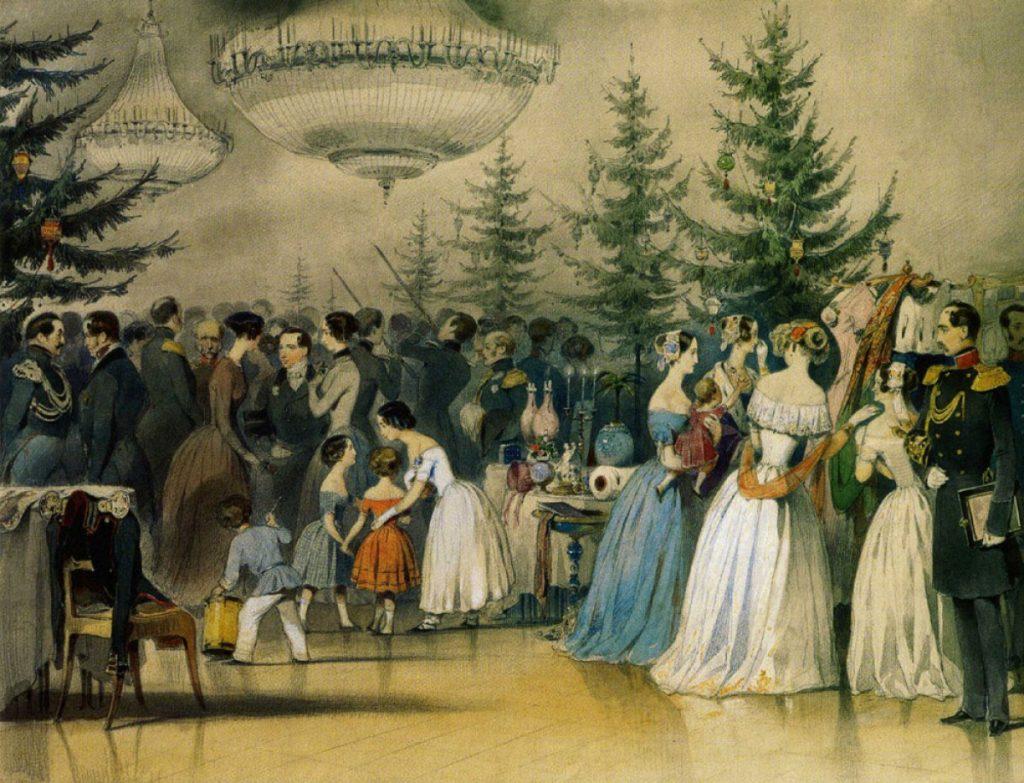 165 лет назад нарядили первую общественную рождественскую елку