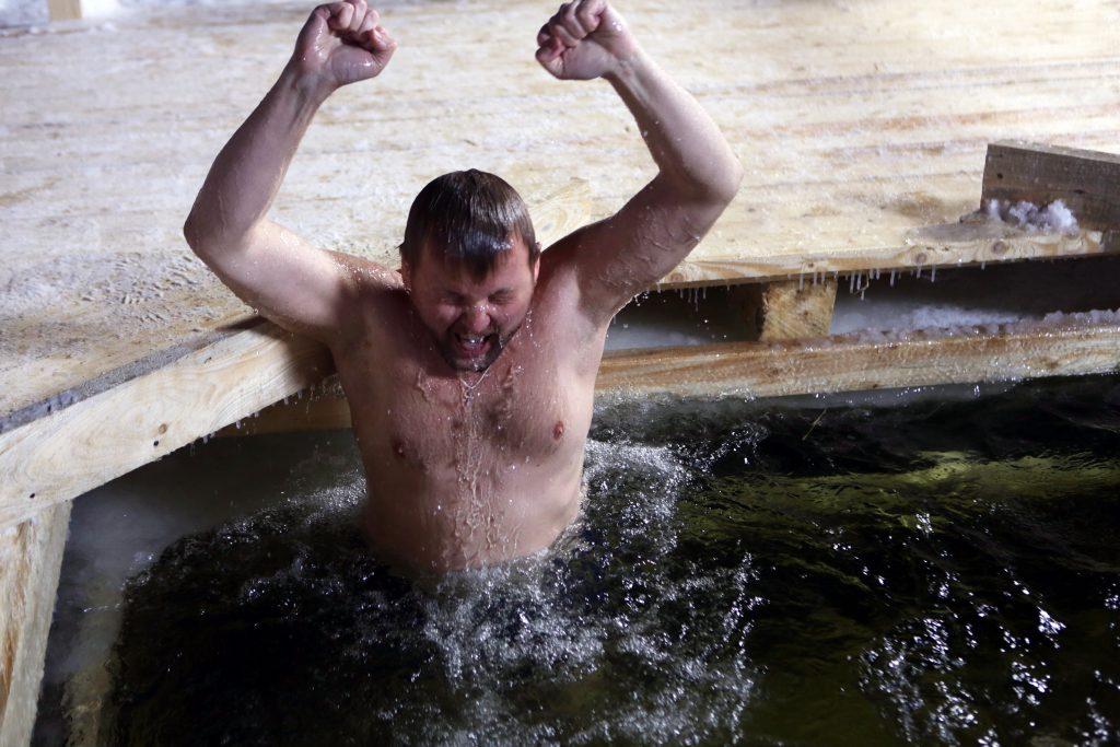 На территории ЮАО определено 3 места массового купания населения в период праздника Крещение Господне