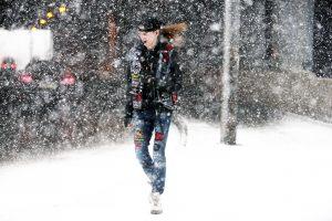 Дата: 22.03.2015, Время: 16:44 Снегопад в Москве