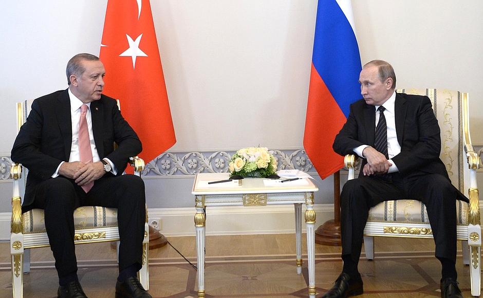 Президент Турции собирается в Россию